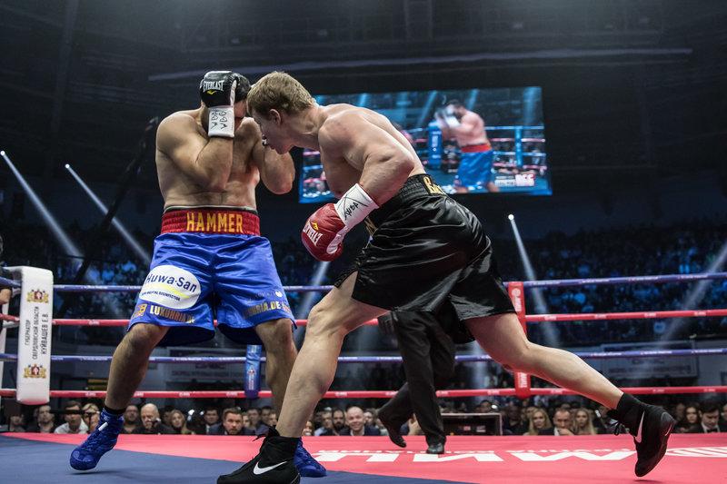 Поветкин победил Хаммера ипретендует напояс поверсии WBA Super