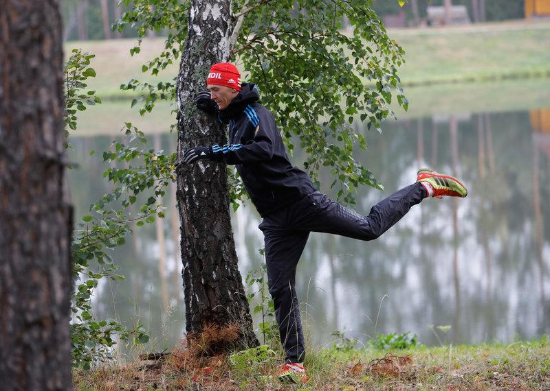 Никита Крюков. В спринте трехкратному чемпиону мира не повезло. Поломка штырька не позволила ему пройти дальше 1/4 финала