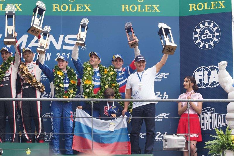 Экипаж Петрова и Алешина стал третьим по итогам гонки «24 часа Ле-Мана», команда Алонсо — лучшая второй год кряду