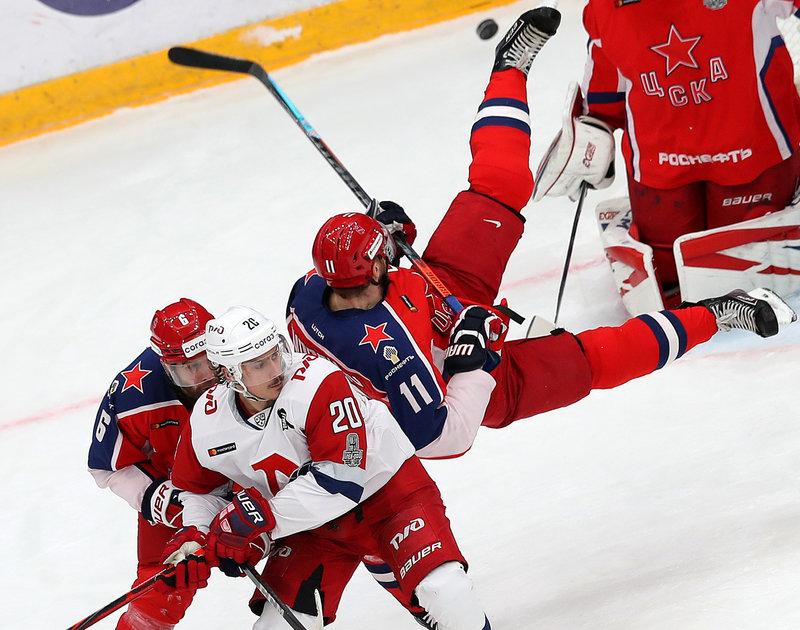 ЦСКА быстро нанес ответный удар. В серии с «Локомотивом» все только начинается