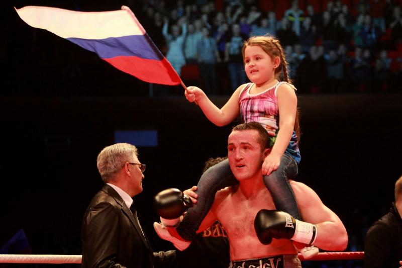 Денис Лебедев лицо после боя