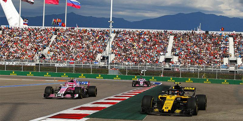 Формула-1. Гран-при России. Гонка - Сочи 29 сентября смотреть онлайн