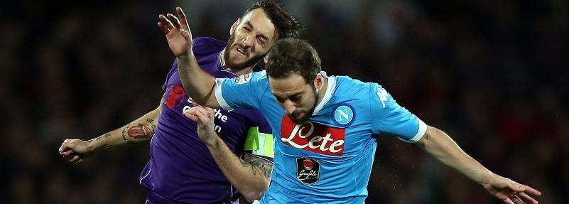 Два гола за 65 секунд в матче «Фиорентина» - «Наполи»