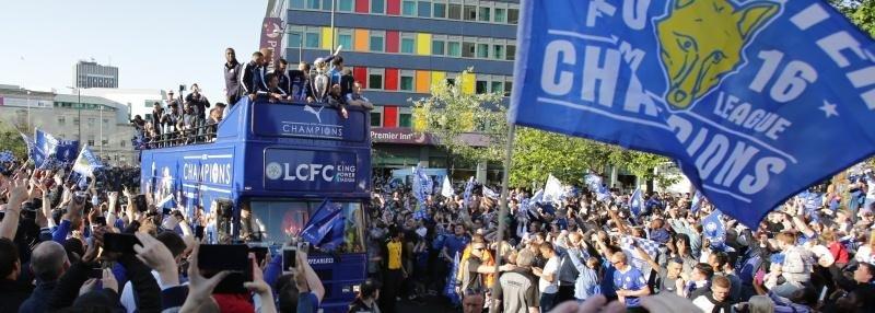 Чемпионский парад «Лестера»