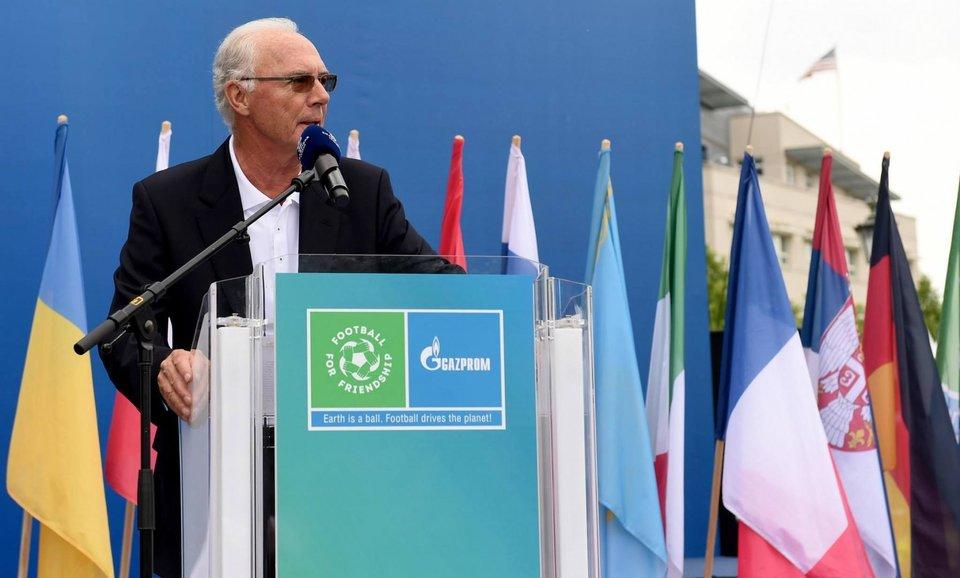 Франц Беккенбауэр примет участие в онлайн-конференции к старту программы «Футбол для дружбы»