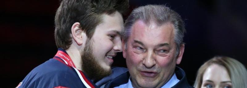 «Никто не верит, что дед не помогает моей карьере». Внук Третьяка пытается заиграть в КХЛ