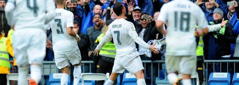 4 гола Криштиану Роналду из матча «Реал» – «Сельта»