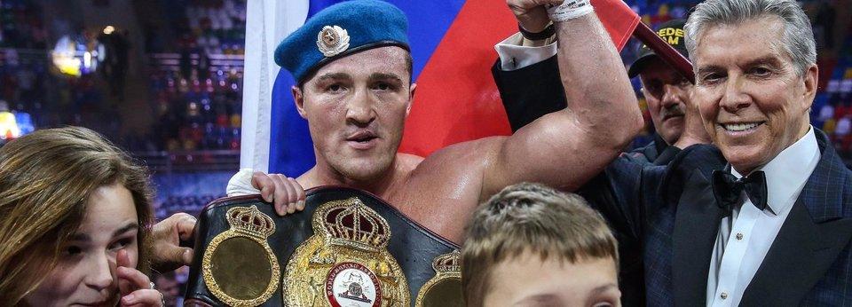 У кого из российских боксеров есть чемпионские пояса