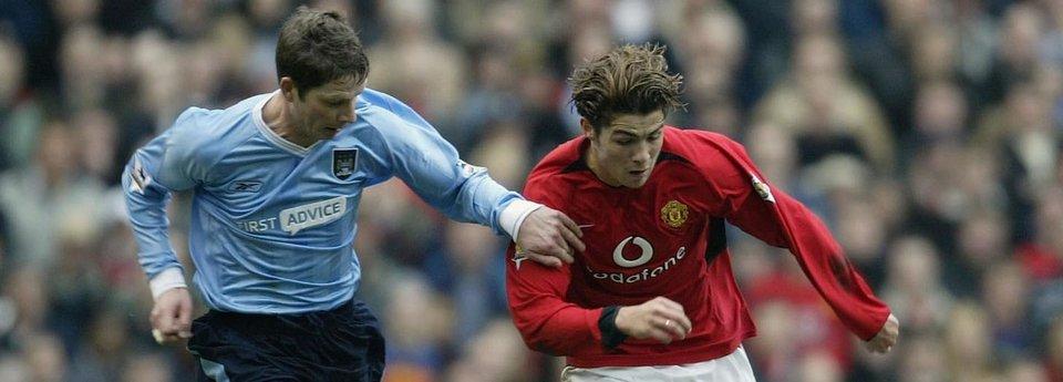 Криштиану Роналду против «Манчестер Сити». Как это было раньше