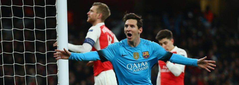 Месси впервые забил Чеху и принес победу «Барселоне»