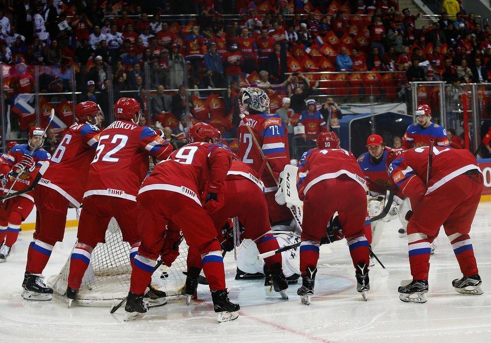 Матч за третье место Россия – США и финал ЧМ-2016 в прямом эфире на «Матч ТВ»