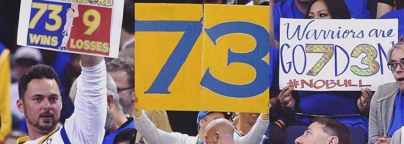 73 победы «Голден Стэйт» и 400 трехочковых Карри. Почему об этом все говорят?