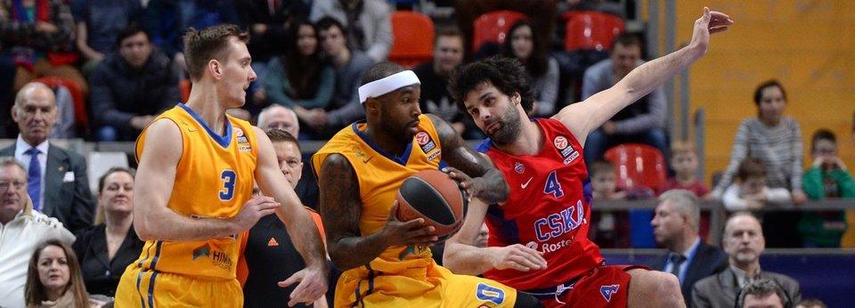 Рекорд на трибунах и 206 очков на двоих. ЦСКА в третий раз в сезоне победил «Химки»
