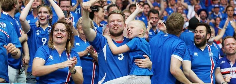 Как столица Исландии празднует победу над Англией