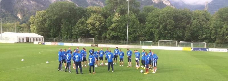 «Как в ФНЛ передачи отдают!» Первый день подготовки сборной России к Евро