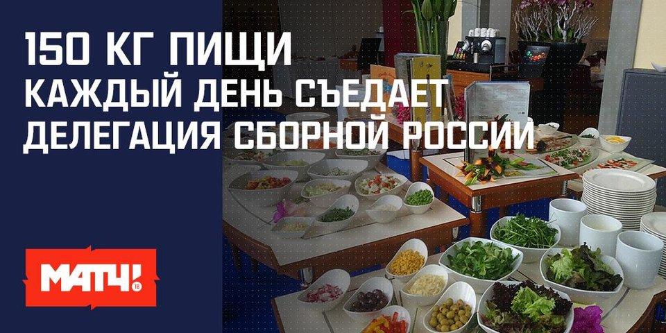 «В Европе есть проблема с русскими салатами». Кто и как кормит сборную России