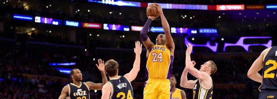 «Спорил с ним на 50 очков, а этот засранец набрал 60». Коби Брайант громко попрощался с НБА