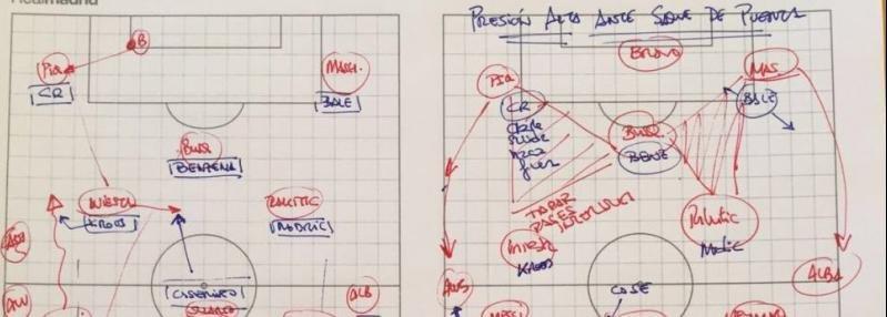 Как «Реал» планировал остановить «Барселону». Записки Зидана перед класико