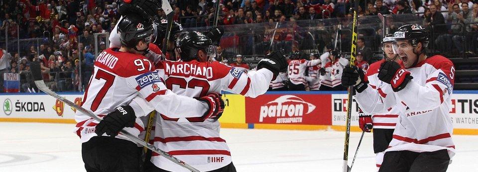 5 чемпионских шайб сборной Канады на ЧМ-2016