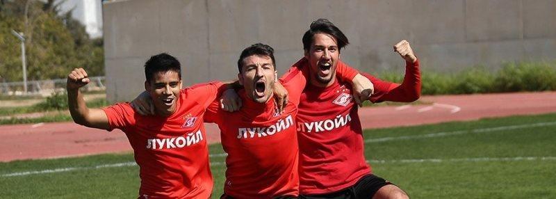 Первый гол Мельгарехо за «Спартак»