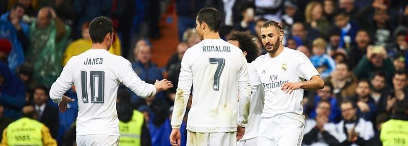 «Реал» забивает три гола за девять минут