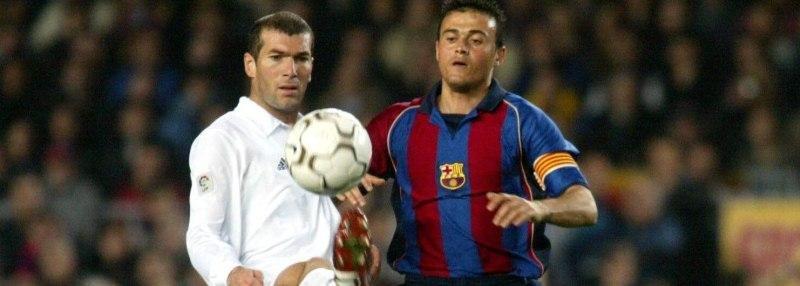 Зидан против Луиса Энрике. Как тренеры «Реала» и «Барсы» играли в класико