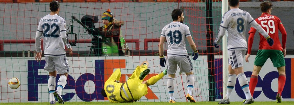 Незасчитанный гол, который мог вывести «Локомотив» в 1/8 финала Лиги Европы