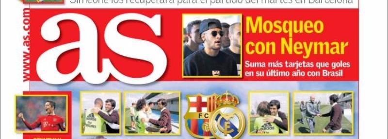 3 дня до класико. Рауль приехал на базу «Реала», Хамес передал привет Зидану