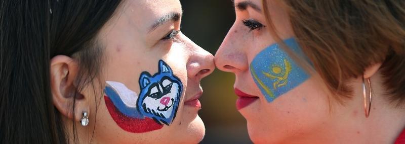 Россия – Казахстан. Лучшие кадры