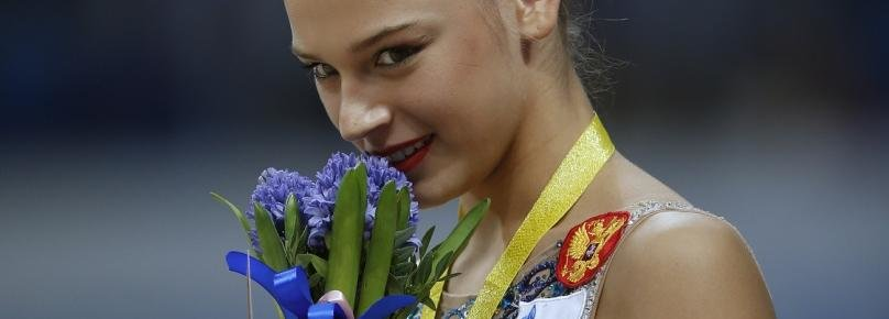 Конкурс красоты. Лучшие кадры московского этапа гран-при по художественной гимнастике