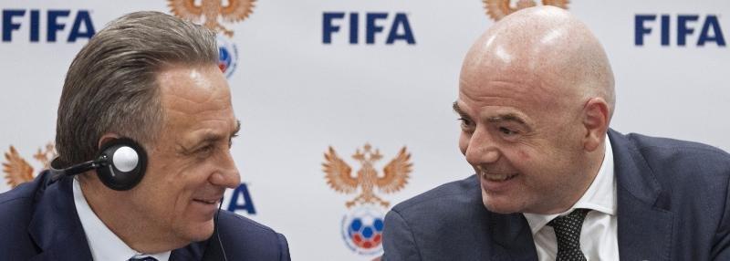«Поспорили с Мутко, кто лучше будет говорить по-русски». Президент ФИФА в Москве
