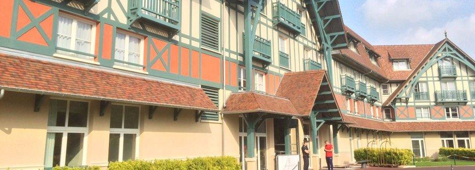 Отель, в котором поселилась сборная России