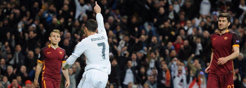 «Реал» побеждает «Рому» и выходит в 1/4 финала Лиги чемпионов