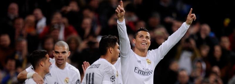 Четыре гола «Реала» в ворота «Севильи»