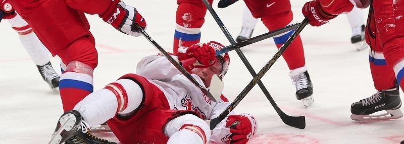 Десять фото о десяти шайбах сборной России в ворота Дании