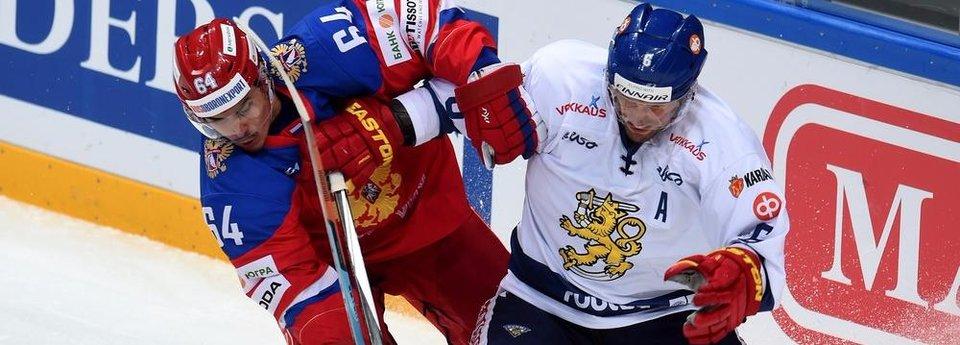 Сборная России пропускает Финляндию в финал
