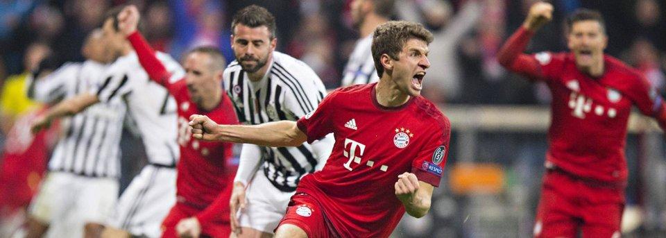 «Бавария» спасается в матче с «Ювентусом» и выходит в четвертьфинал Лиги чемпионов