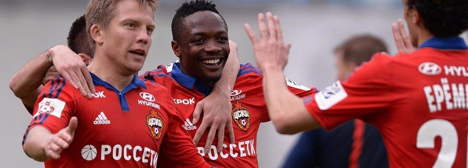 ЦСКА забивает семь голов «Мордовии»