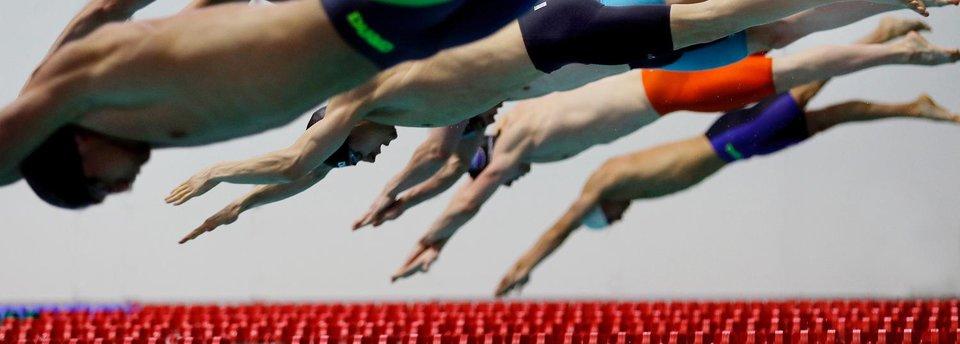 Водный показ. 9 кадров чемпионата России по плаванию