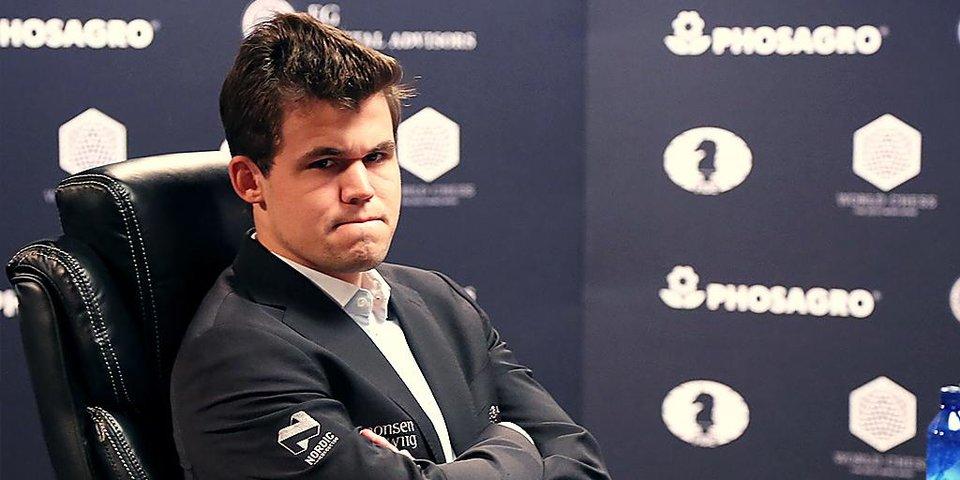 Нервный срыв Карлсена и хладнокровие Карякина. Разбор восьмой партии чемпионского матча