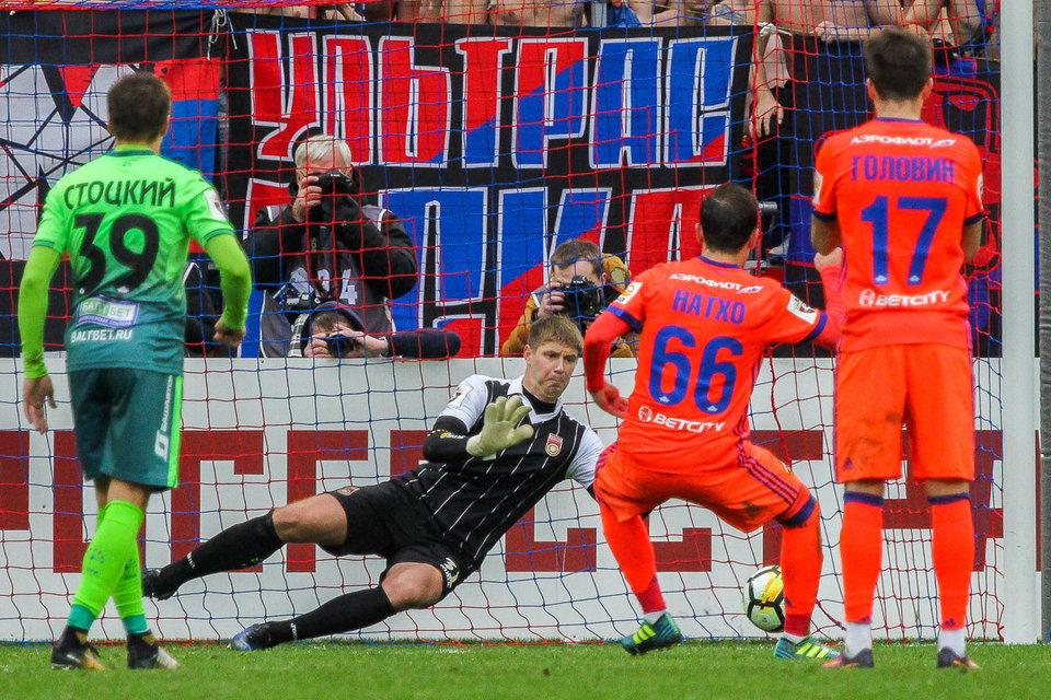 Федор Чалов: «Думаю, пенальти был. Защитник начал отталкивать меня руками и поставил подножку»
