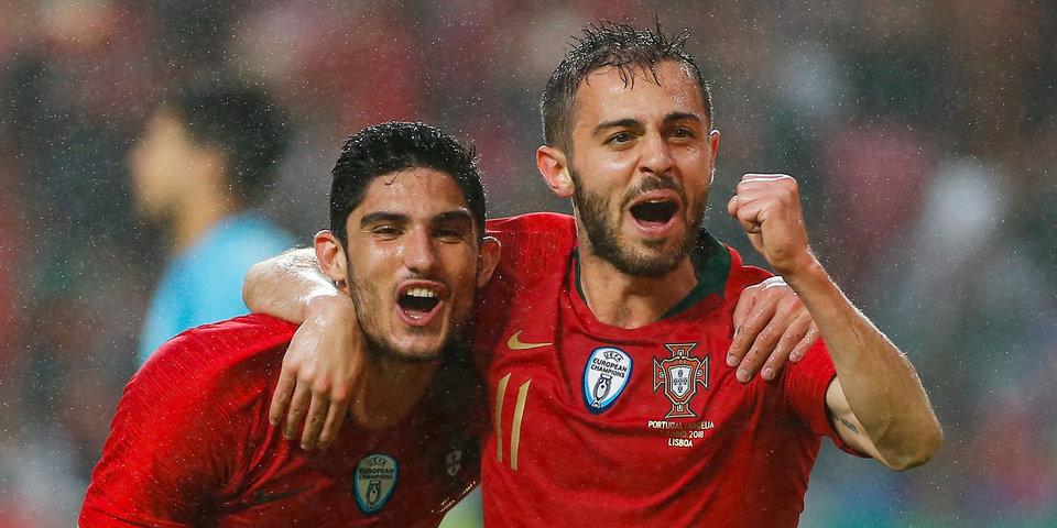Италия и Португалия показали составы на матч Лиги наций