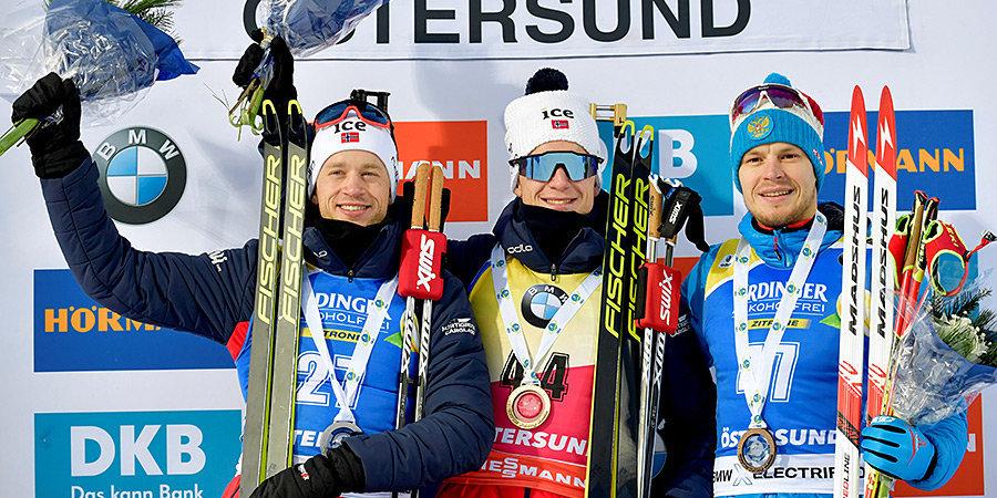 Елисеев завоевал бронзу в спринте на первом этапе КМ в Эстерсунде, Логинов — четвертый