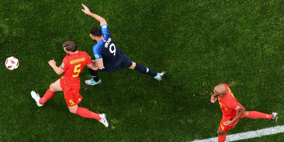 ЧМ-2018. Франция - первый финалист чемпионата мира, Роналду ушел в «Ювентус». Как это было