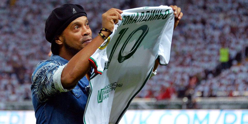 «Ахмат» побеждает «Амкар» на глазах у Роналдиньо: гол и лучшие моменты