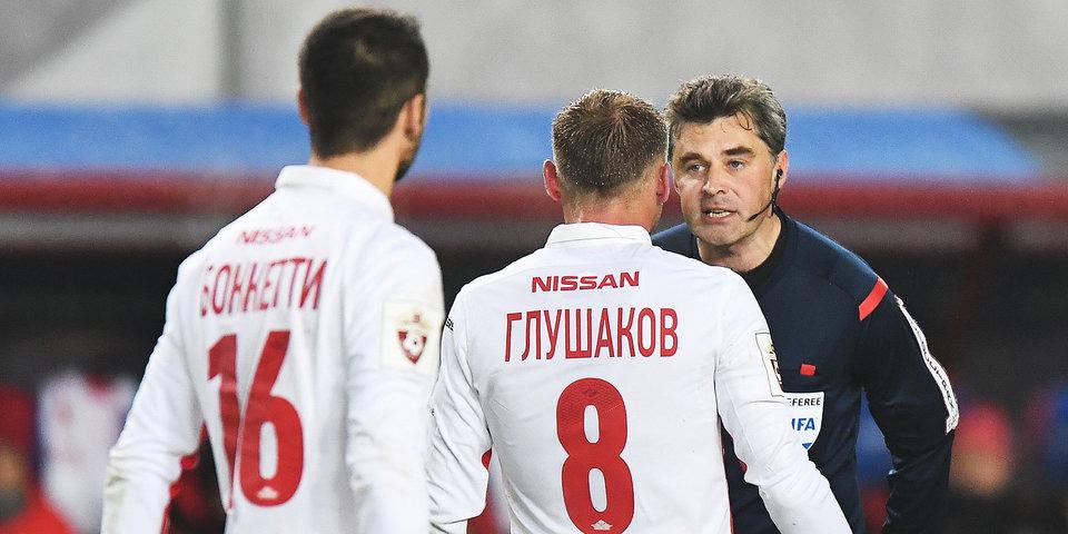 Николаеву доверили матч «Спартак» – ЦСКА