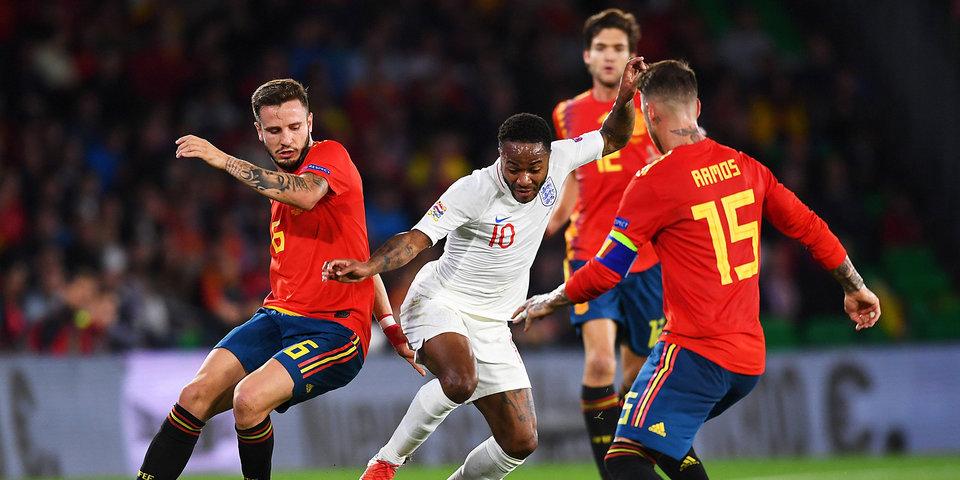 Англия в гостях победила Испанию в Лиге наций