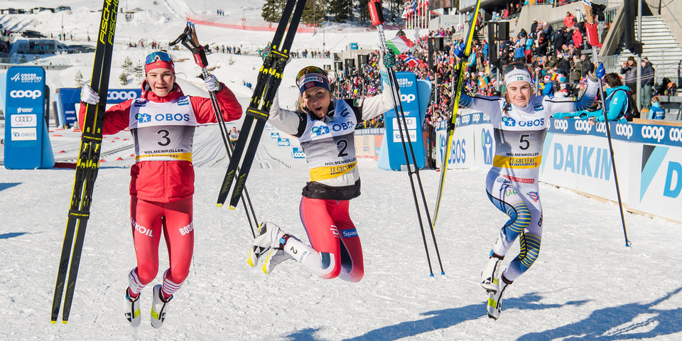 Непряева взяла серебро в марафоне на этапе Кубка мира в Осло