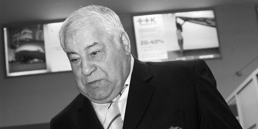 Скончался легендарный тренер Дмитрий Миндиашвили