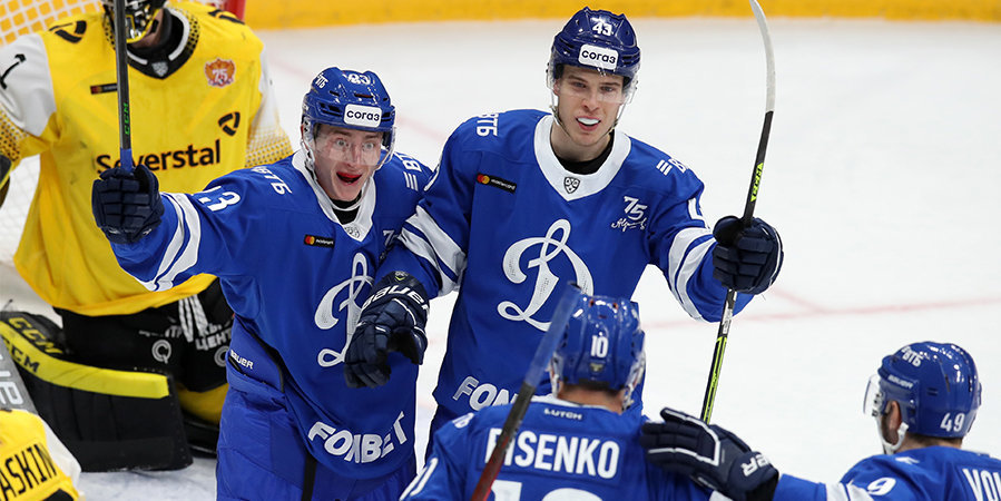 Шайба Шипачева помогла «Динамо» победить «Северсталь»